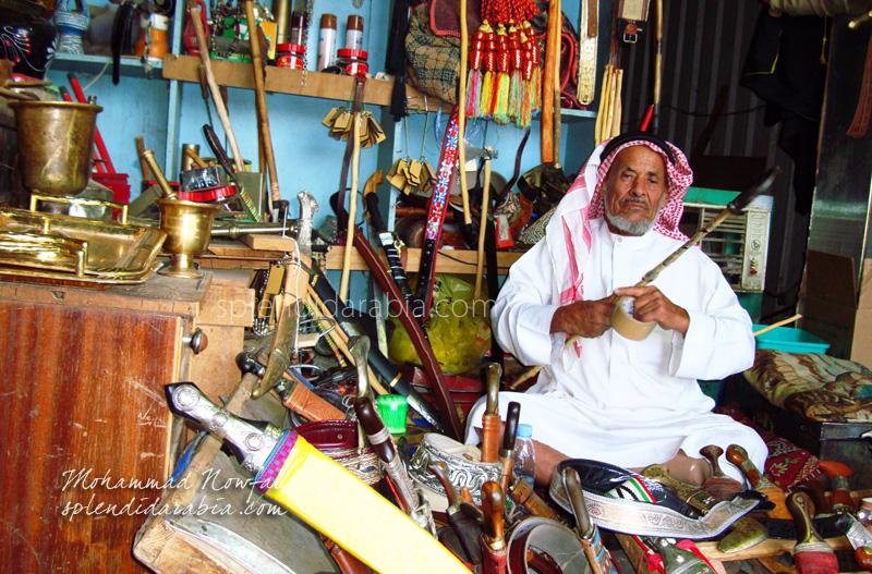 dagger-seller